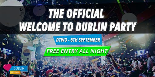 The Free Entry Erasmus Welcome Party - Sign-Up For Free Pass