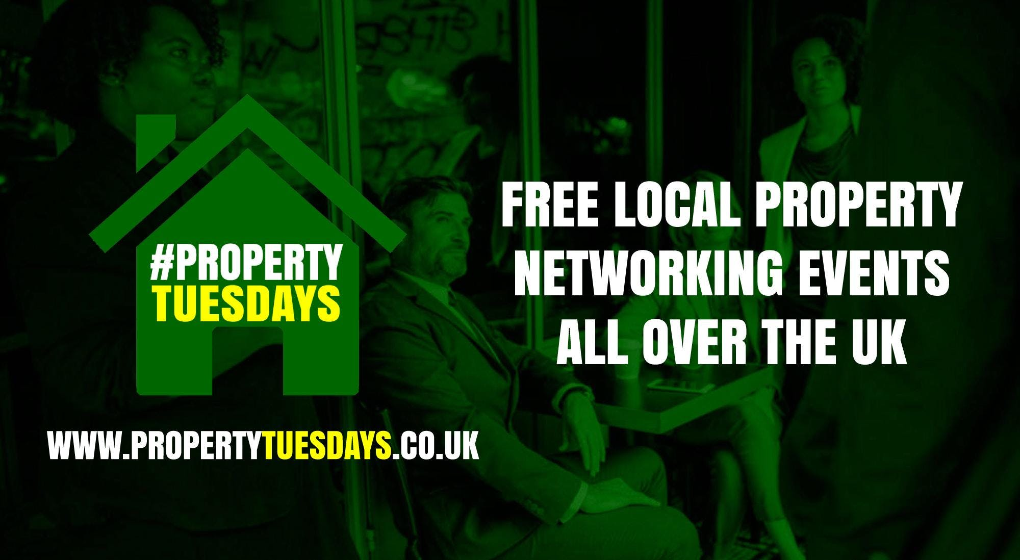 Property Tuesdays! Free property networking event in Urmston