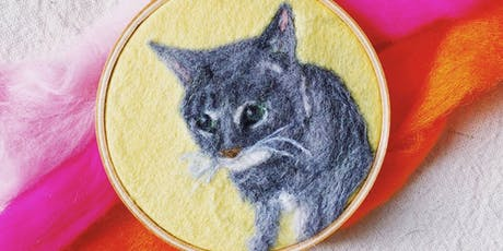 Makers Workshop: Felted Pet Portraits tickets