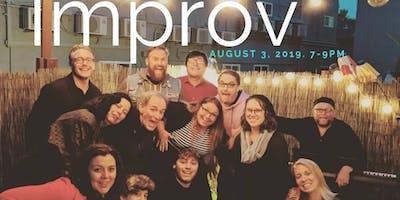 Intro. to Improv- New Student Registration