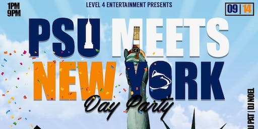 Level 4 Entertainment Presents: PSU Meets NY Brunch & Day Party