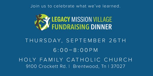 Legacy Mission Village Banquet
