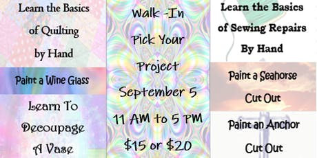 Walk-In: Pick Your Project tickets