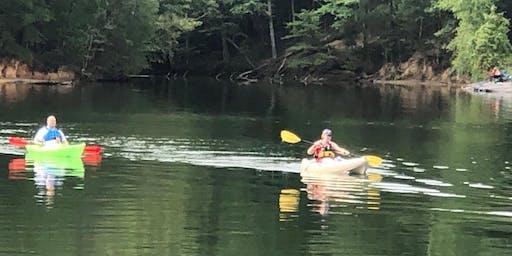 Kayaking with Team River Runner