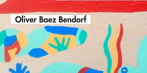 Poetry Reading: Oliver Baez Bendorf with T Fleischmann & beyza ozer