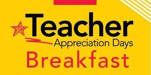 Office Depot Teacher Appreciation Breakfast