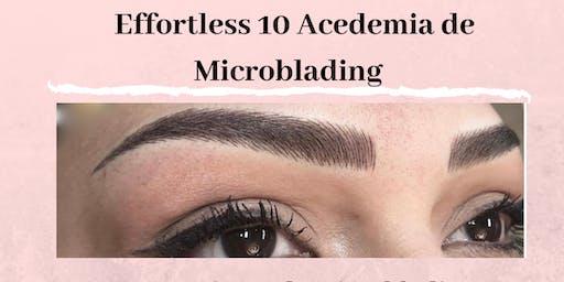 Academia Effortless 10 Entrenamiento de Microblading en Español 22 de Septiembre en Raleigh NC