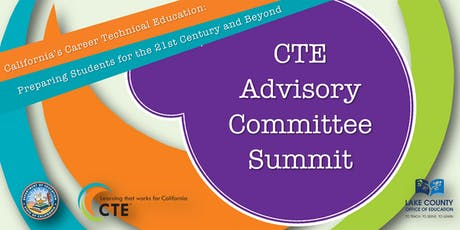 CTE Advisory Committee Summit tickets