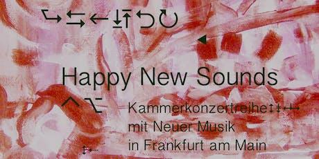 Happy New Sounds Konzert mit zeitgenössischer Klaviermusik Tickets