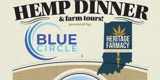 Five Course Hemp Dinner & Farm Tours
