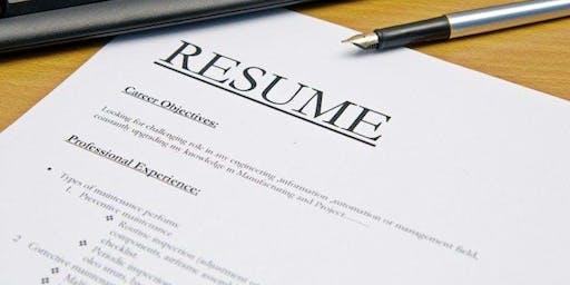 LevelUp Resume Workshop September 17