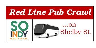Red Line Pub Crawl on Shelby Street