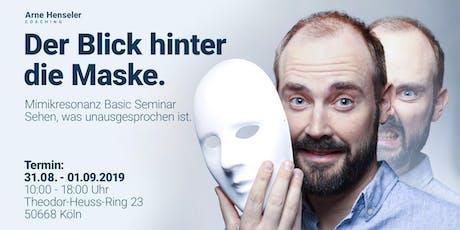 Der Blick hinter die Maske - Mimikresonanz Basic Seminar Tickets
