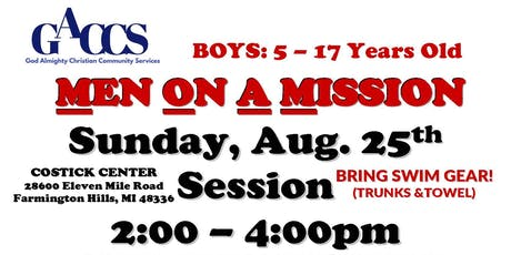 GACCS MEN ON A  MISSION BOYS MENTORING GROUP tickets