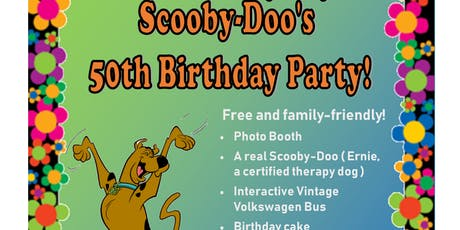 Scooby-Doo's 50th Birthday Party tickets