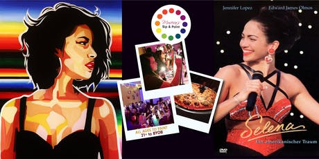 Museica's BYOB Dine & Paint Night - SELENA! (Dinner & Movie included) tickets
