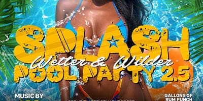 Open Bar Splash Down Pool Party! Hookah | Food @DMVSocialEvente
