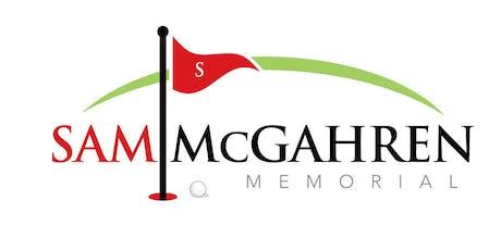2019 Sam McGahren Memorial Golf Tournament/Pay by Check tickets