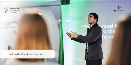 SingularityU Amsterdam Lunch-talk: 'A.I. on the Board' by Henri Jacobs tickets