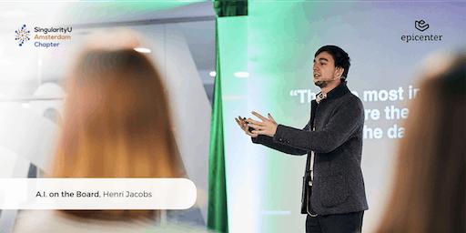 SingularityU Amsterdam Lunch-talk: 'A.I. on the Board' by Henri Jacobs