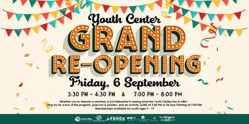 EAFB Youth Center - Grand Re-Opening