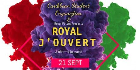 Royal J'Ouvert tickets