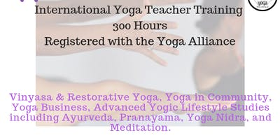 Advanced Yoga Teacher Training - Puerto Vallarta - 300 hrs.
