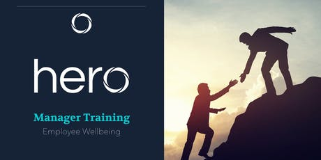 Manager Training - Employee Wellbeing tickets