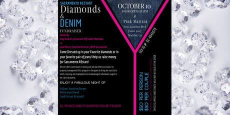 Sacramento REstart Diamonds & Denim tickets