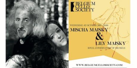 Mischa Maisky and Lily Maisky | BCS 19/20 tickets