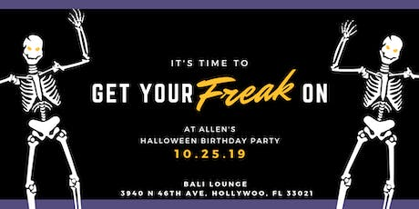 Halloween party (Get your freak on) tickets