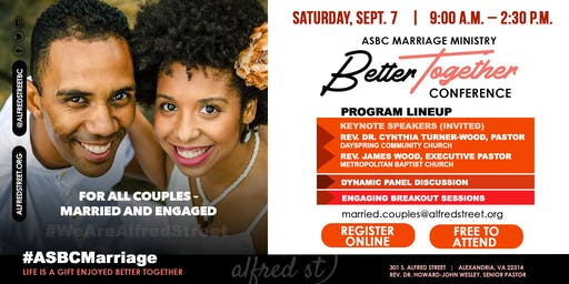 Marriage Ministry - Better Together Conference