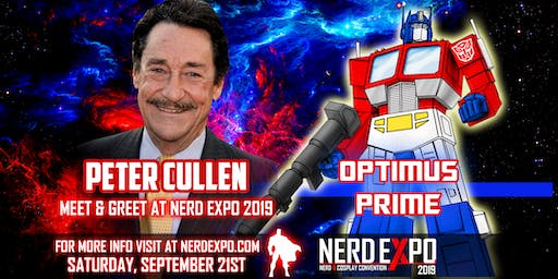 Peter Cullen Meet & Greet At Nerd Expo 2019