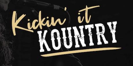 Kickin' It Kountry tickets