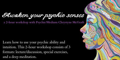 Awaken your psychic senses! tickets