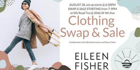 CLOTHING SWAP/SALE tickets