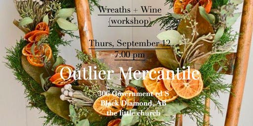 Wreath + Wine Workshop
