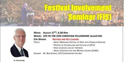 Festival Involvement Seminar - Marianas Festival Of Hope with F Graham
