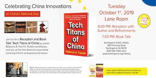 Author Reception and Book Talk w/ Rebecca Fannin