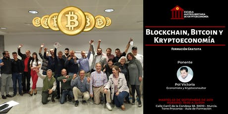 Training Class - Bitcoin, Blockchain y Kryptoeconomía tickets