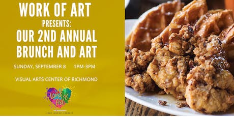 Work of Art Presents: Our 2nd Annual Brunch and Art tickets
