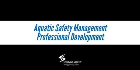 Aquatic Supervisor Training - Kimberly tickets