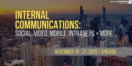 Internal Communications: Social, Video, Mobile, Intranets + More tickets