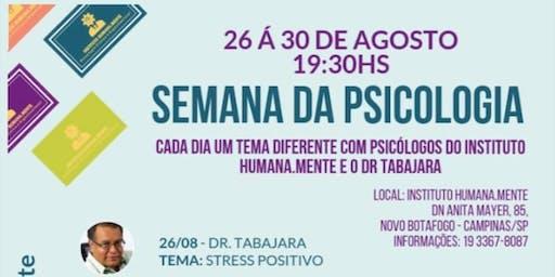 Semana Da Psicologia - IHM Campinas