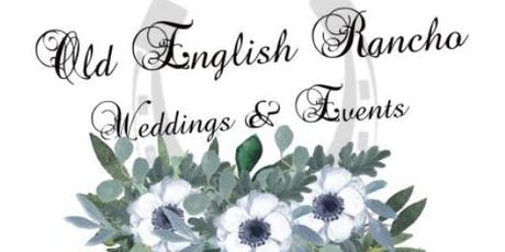 Old English Rancho Weddings & Events Venue Opening tickets