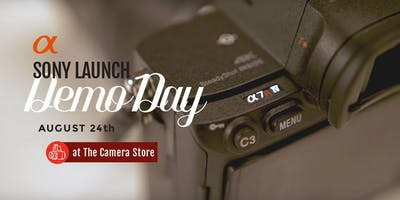 Sony Launch Demo Day