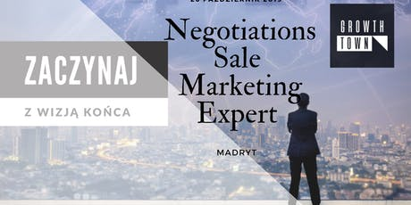 Negotiations Sale Marketing Expert tickets