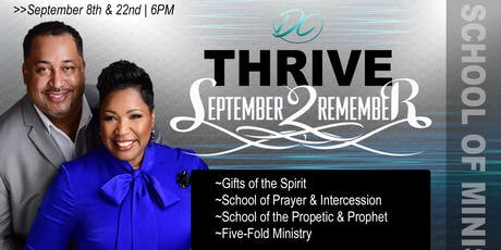 THRIVE - September 2 Remember tickets