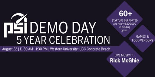 PSI Demo Day (5 Year Celebration!)