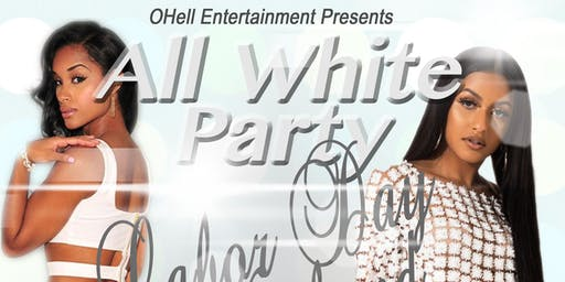 All White Labor Day party